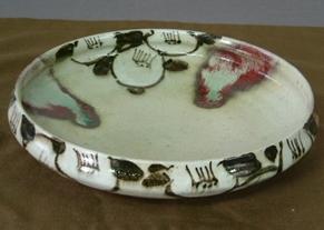 結婚式用オリジナル食器、菓子鉢。伝統の絵付け技術を生かした、温かみある一品